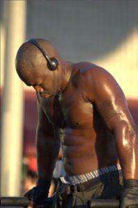 workout man spieren