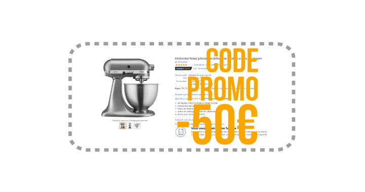 Code Promo KitchenAid chez Amazon