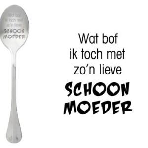 Message spoon schoonmoeder