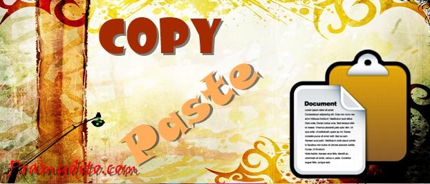 Ilustrasi Copy Paste