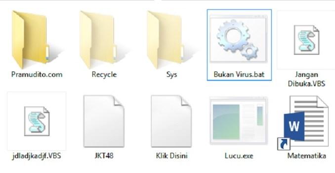 Gambar Folder dan File