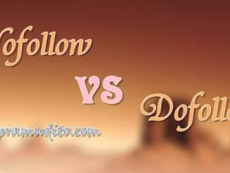Nofollow VS Dofollow