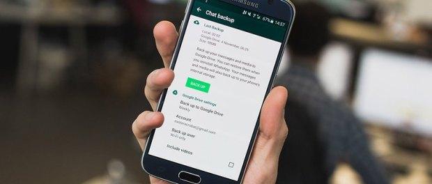 Tampilan WhatsApp (AndroidPIT)
