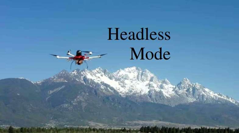 Headless Mode Pada Drone