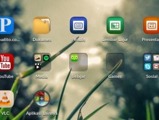 Endless OS Homescreen
