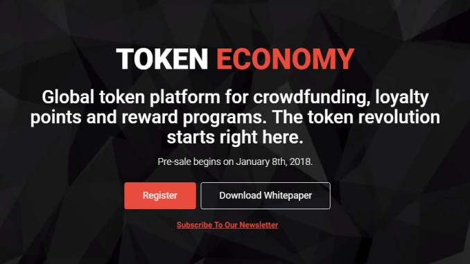 Homepage Tokenomy
