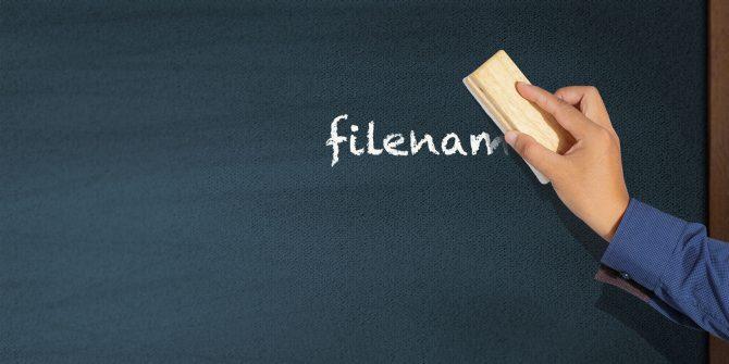 Tutorial Rename file on Linux