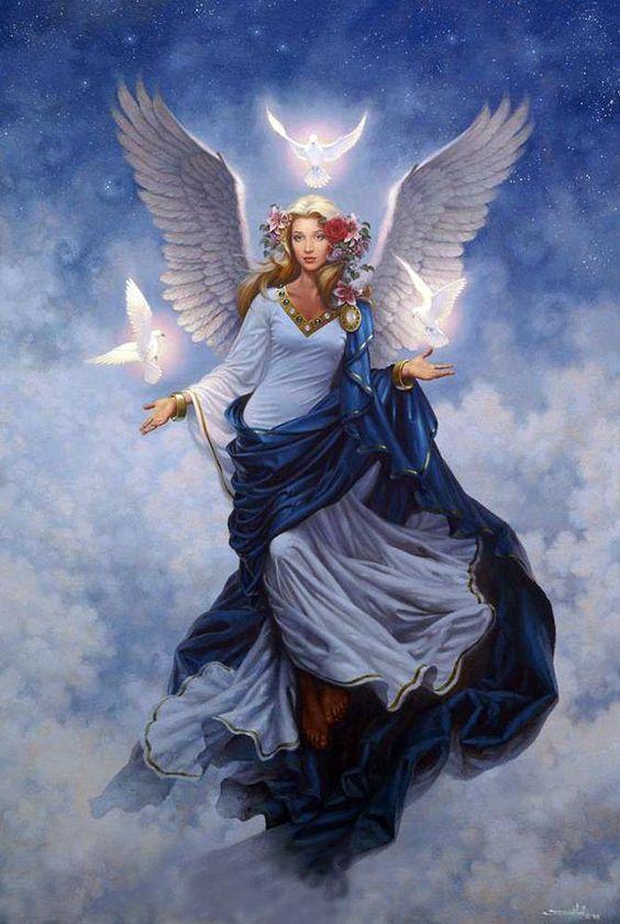Azrael archange du deuil et du changement