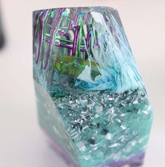Orgonite Cristal de Guerison de l'Archange Raphael