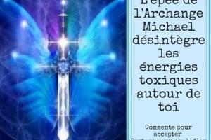 invocation de l epee de protection de l archange michael