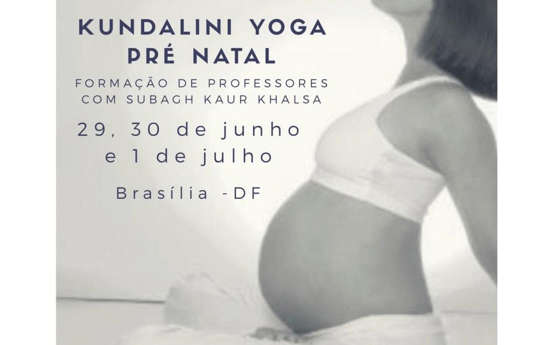 Especialização em Yoga Pré-Natal (Em Brasilia)
