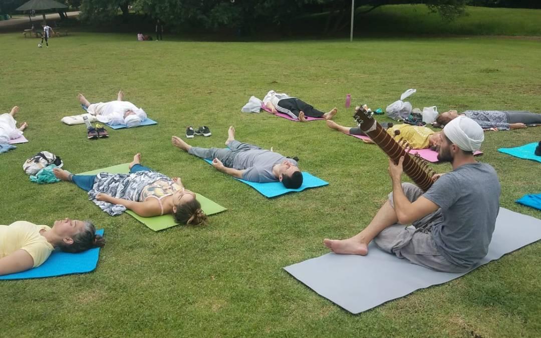 Aula Aberta Kundalini Yoga no Parque da Juventude