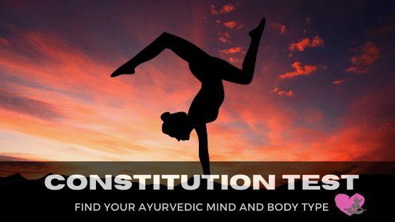 Ayurvedic Body Type Test