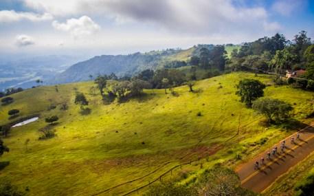 Montanhas no percurso da prova (Fábio Piva/ Brasil Ride Botucatu)