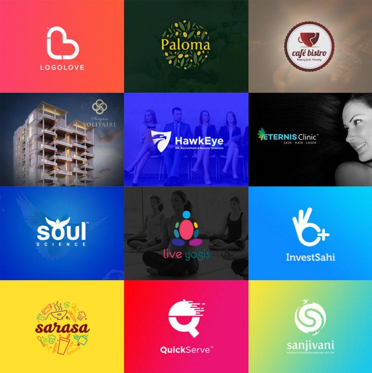 portfolio graphic designer logo