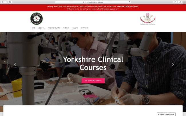 Yorkshire Clinical Courses