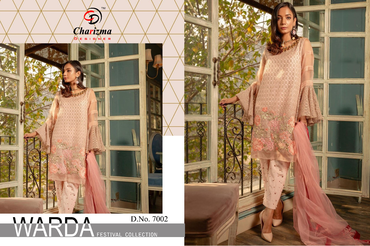 cf188d81fd Charizma designer warda festival collection Pakistani suits wholesale dealer  Surat. DOWNLOAD ZIP