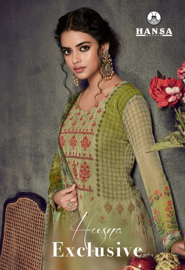 0099212376 Hansa exclusive vol 4 Georgette Digital prints with work Wholesale price  supplier online - Wholesaler & Exporter of All Brands | Pratham Exports