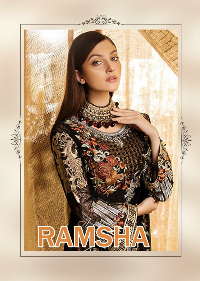 a9a369b515 Deepsy ramsha collection Wholesale Pakistani suits best rate from surat -  Wholesaler & Exporter of All Brands | Pratham Exports