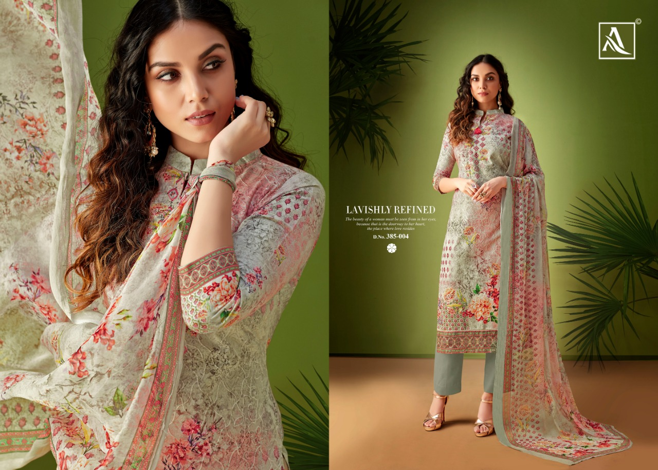 22d99bf5a2 Alok suits rang Ari work pure Cambric cotton digital printed salwar kameez  wholesale supplier online shopping buy from Surat. DOWNLOAD ZIP