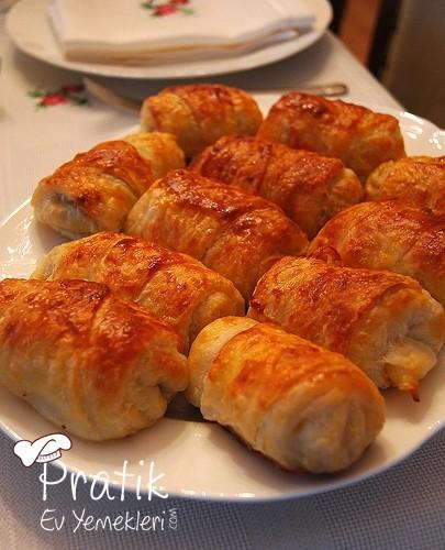 Mantarlı Sütlü Börek