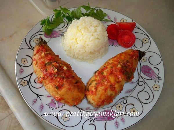 Fırında Mantolu Tavuk