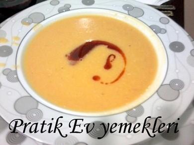 Tavuklu Mercimek Çorbası