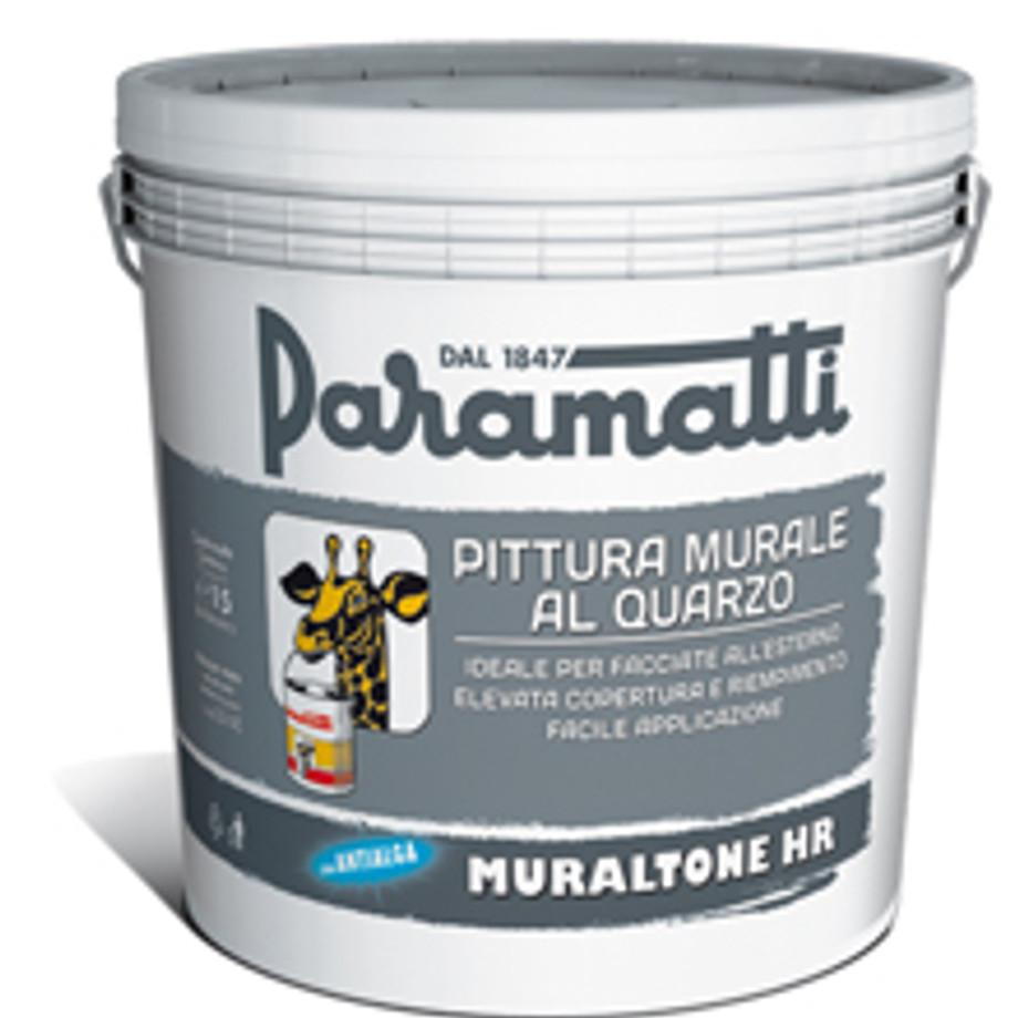 Indicato per grandi superfici interne ed esterne, sia lisce che ruvide. Pittura Murale Al Quarzo Muraltone Hr Paramatti Pratiko Store