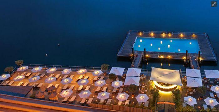 Smartech Italia Onfals al Grand Hotel Tremezzo Lago di Como 5 stelle Lusso attrezzatura per