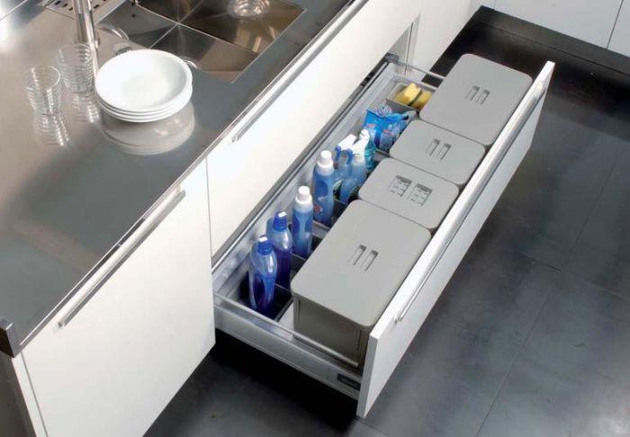 Tecnoinox Kit da cassetto con vaschetta per umido e