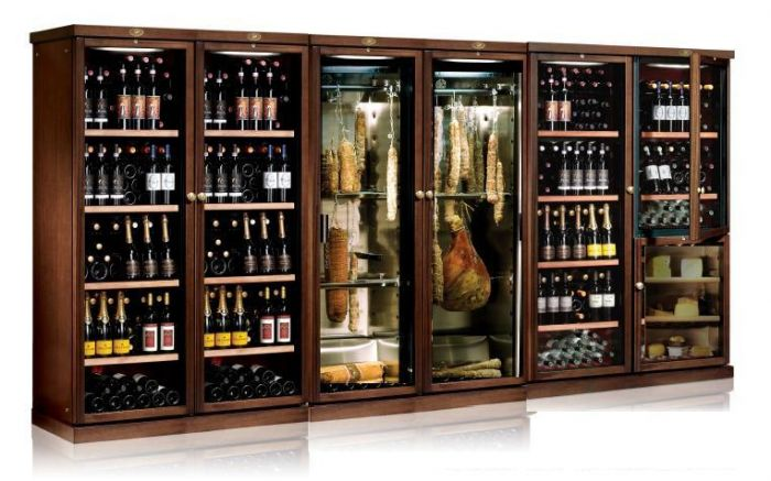 IP Industrie Cantine refrigerate linea Wood attrezzatura