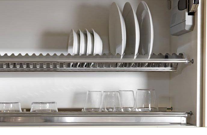 Tecnoinox Inoxmatic scolapiatti per pensile cucine