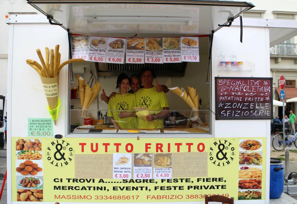 Prato cosa si mangia allo Street Food Village 2016