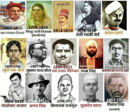 shaheeds of india