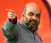 अमित शाह , आक्रामक राजनीति,बीजेपी