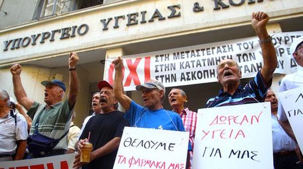 Griechenland Rentner