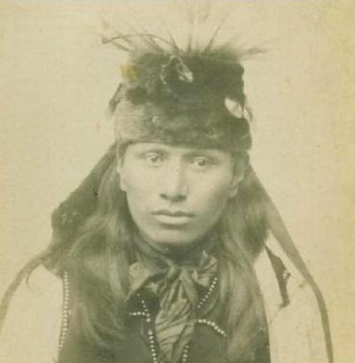 Blondes Haar der Eingeborenen