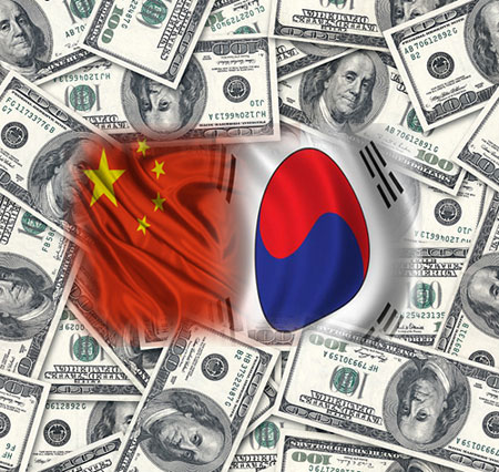 china_suedkorea_usdollar