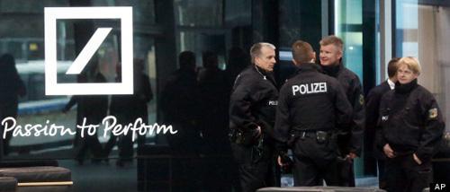 polizei-deutsche-bank
