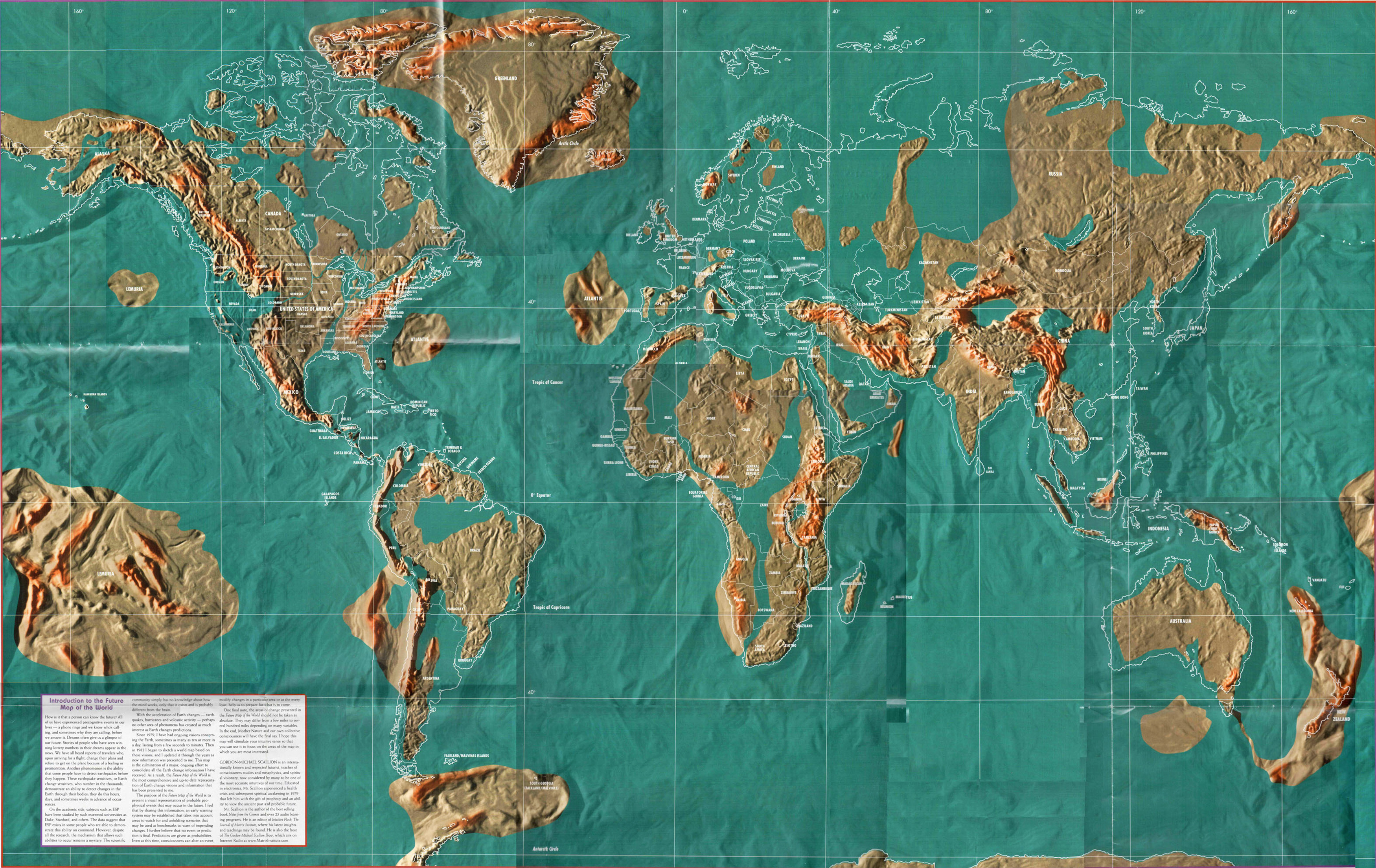 Die zukünftige Weltkarte: Mögliche Erdveränderungen | PRAVDA TV ...