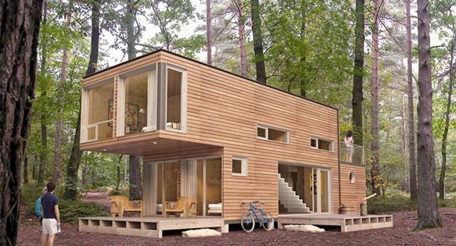 Wohnen im schiffscontainer was diese leute damit for Minihaus bauen deutschland