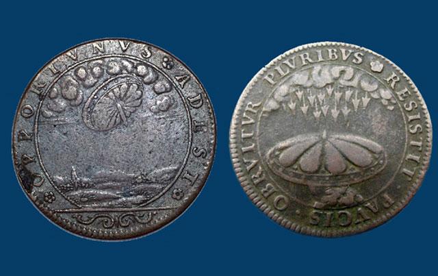 Frankreich Münzen Aus Dem 17 Jahrhundert Sollen Alien Besuch