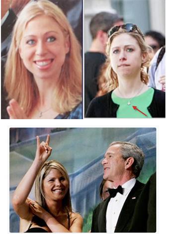 Reptiloiden Clinton