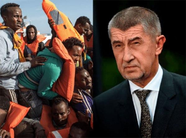 Tschechischer Ministerpräsident: Die illegalen Migranten müssen raus aus Europa