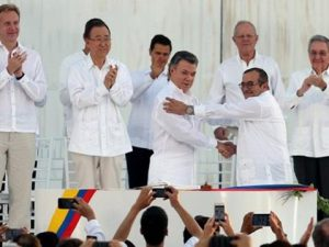 kolumbija колумбија miroven dogovor