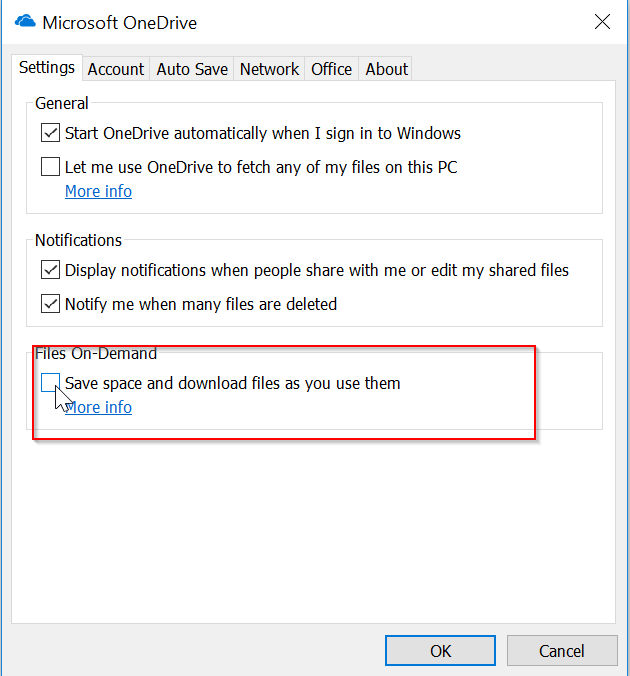 OneDrive- Deleting an online-only file permanently