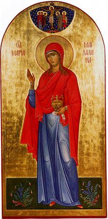 Мария Магдалина. Икона