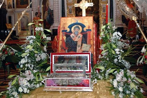 Спиридон Тримифунтский. Мощи святителя Спиридона