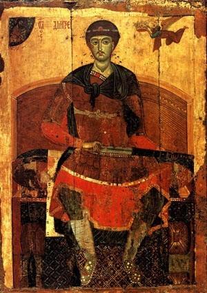 Святой Димитрий Солунский, молитвы и житие