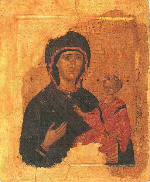 Богоматерь Смоленская Одигитрия
